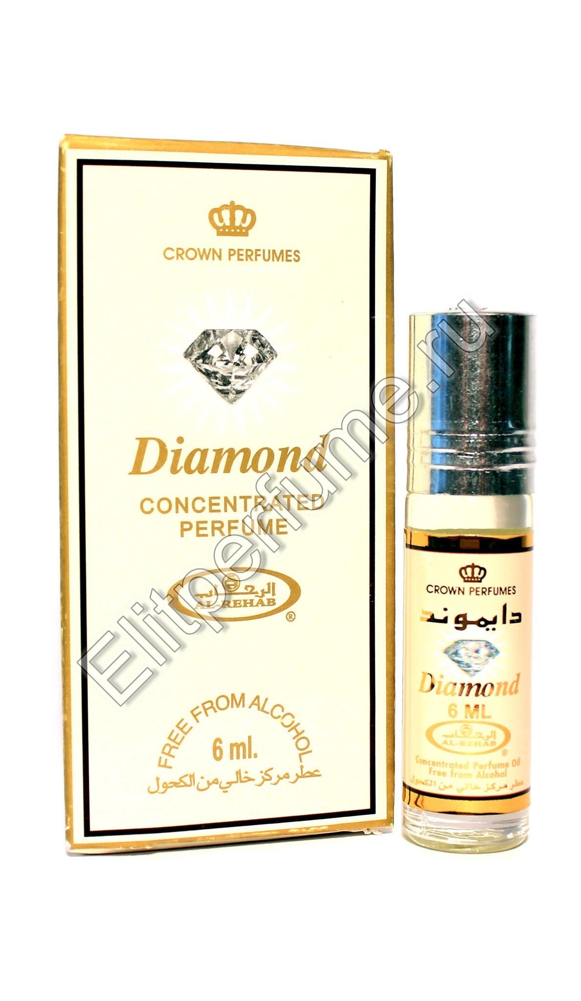 Diamond Даймонд 6 мл арабские масляные духи от Аль Рехаб Al Rehab
