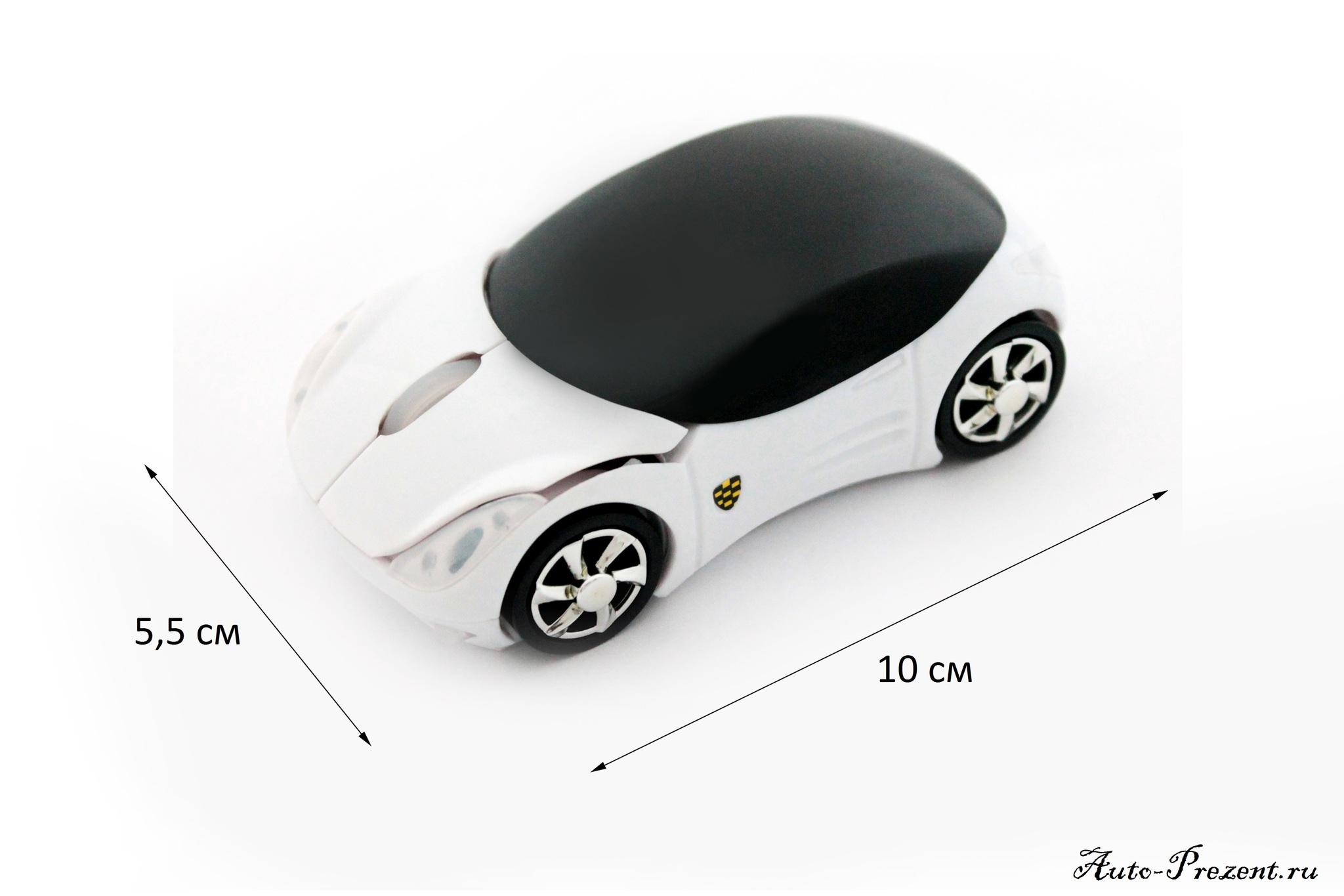 Компьютерная мышка-машинка