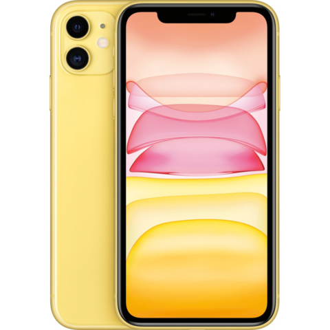 Смартфон iPhone 11 64GB (желтый)