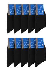 28 носки мужские, черные (10шт)