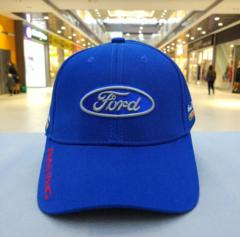 Бейсболка Форд синяя (Кепка Ford)