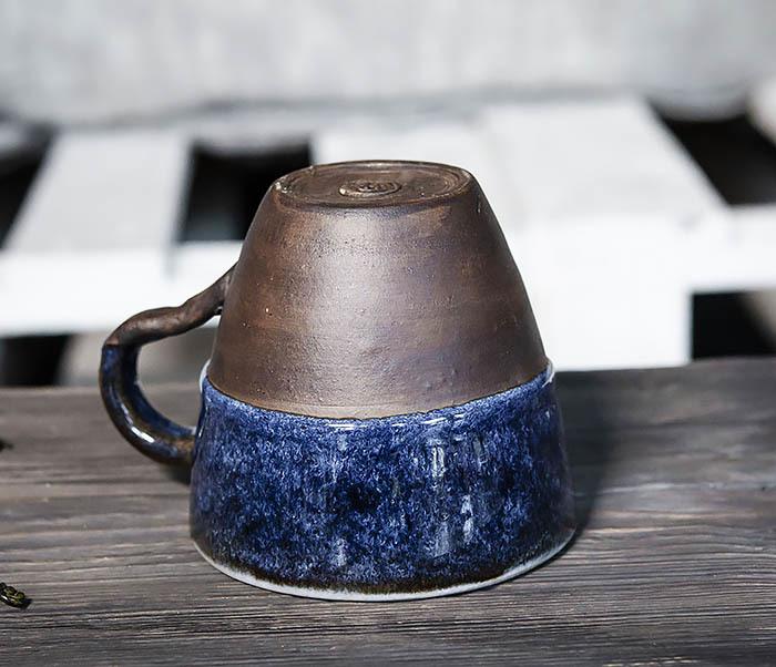 CUP102-1 Керамическая кружка ручной работы (200 мл) фото 11