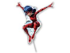F Мини-фигура, Леди Баг, Красный, 13''/33 см, 5 шт.