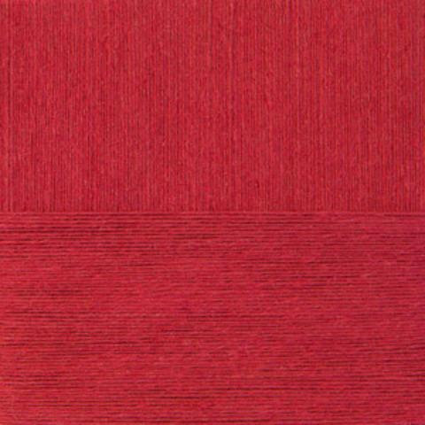 Пряжа Крапивная (Пехорка) 88 Красный мак, фото