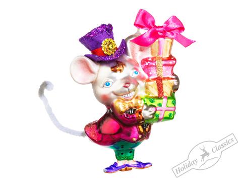 Мышь - Джентельмен с подарками 93955-15 9 (в упак.)
