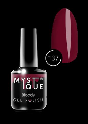 Mystique Гель-лак #137 «Bloody» 15 мл
