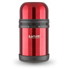 Термос стальной LaPlaya Traditional 0,8L red универсальное горло
