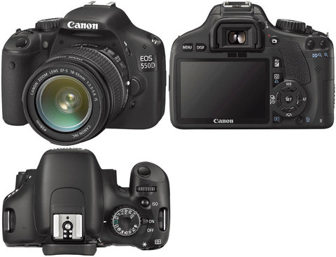 Canon EOS 550D Kit 18-55mm IS II