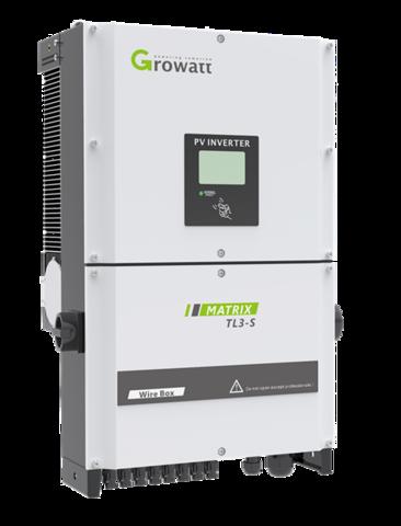 Сетевой инвертор Growatt 30 000S (30 кВт, 3-фазный, 2 МРРТ)