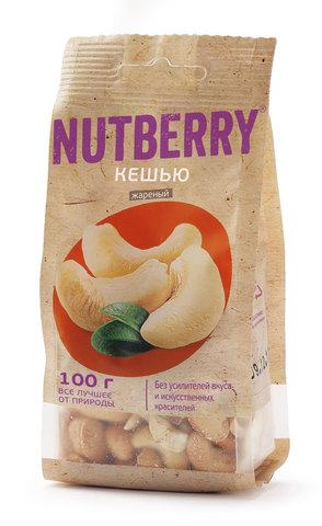 NUTBERRY Кешью жареный 100 г