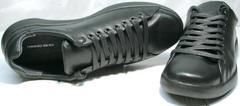 Полностью черные кроссовки мужские GS Design 5773 Black