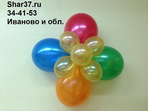 Большой цветок на стену Shar37.ru