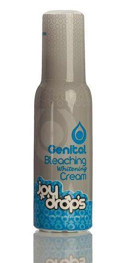Средства по уходу за телом, косметика: Отбеливающий крем для интимных зон JoyDrops Genital Bleaching - 100 мл.