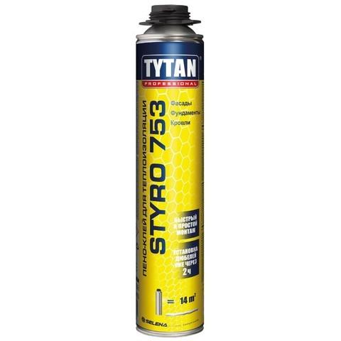 Клей для плит из пенополистирола Styro 753 Профи 750мл Tytan
