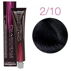 L'Oreal Professionnel Dia Richesse 2.10 (Интенсивный брюнет пепельный) - Краска для волос