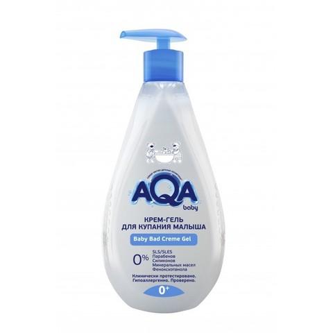 AQA baby. Крем-гель для купания малыша 0+, 250 мл