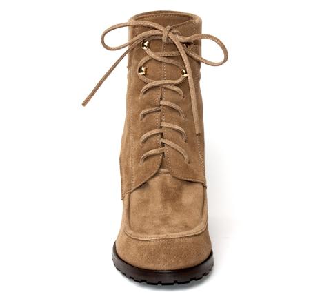 Ботинки Left And Right На Танкеткеu71беж