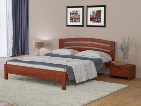 Кровать Тахта - Веста 2 с основанием красно-коричневый