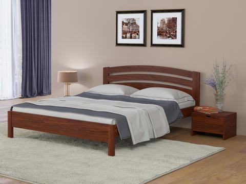 Кровать Тахта - Веста 2 с основанием Орех