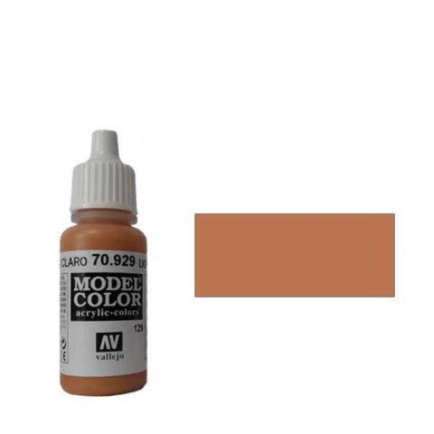 129. Краска Model Color Коричневый Светлый 929 (Light Brown) укрывистый, 17мл