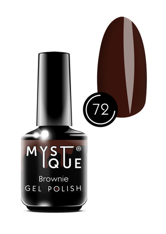 Mystique Гель-лак #72 «Brownie» 15 мл