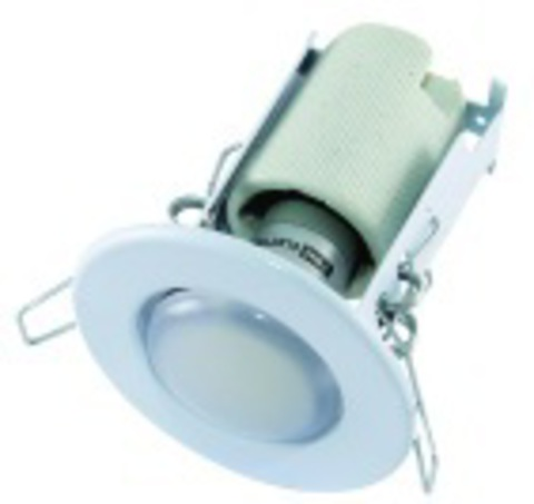 Светильник встраиваемый СВ 01-03 R50 60Вт Е14 белый TDM
