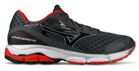 Mizuno Wave Inspire 12 Кроссовки для бега мужские серые