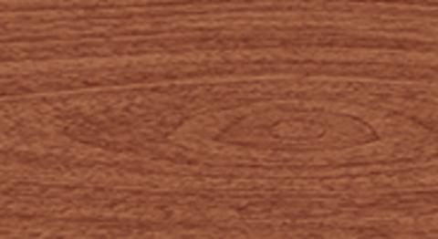 Угол для плинтуса К55 Идеал Комфорт Вишня темная 244 торцевой (пара)
