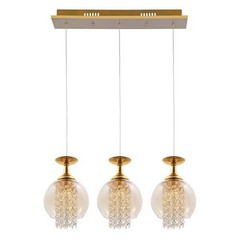 Люстра CRYSTAL LUX CHIK SP3 ORO