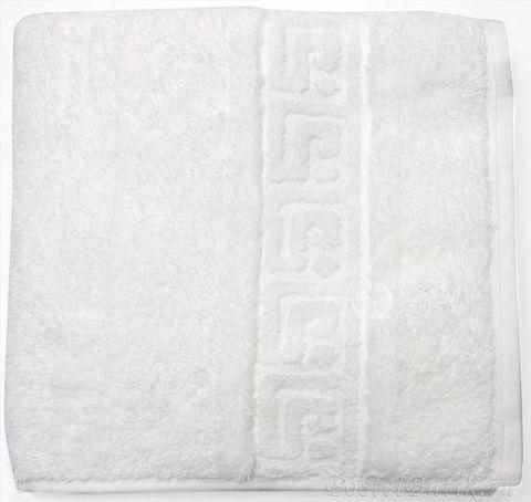 Полотенце 80x200 Cawo Noblesse 1001 белое