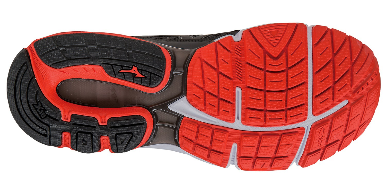 Мужские кроссовки для бега Мизуно Wave Inspire 12 (J1GC1644 10) серые фото