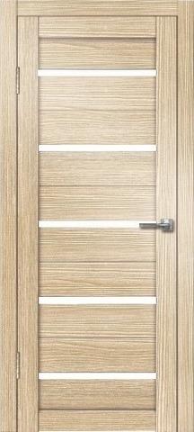 Дверь Дверная Линия Грация-1, стекло снег, цвет лиственница, остекленная