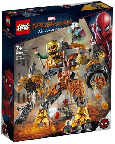 LEGO Super Heroes: Бой с Расплавленным Человеком 76128 — Molten Man Battle  — Лего Супергерои Марвел
