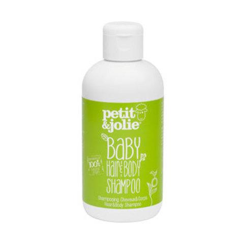 Шампунь-гель для душа для младенцев, 200 мл (PETIT&JOLIE)