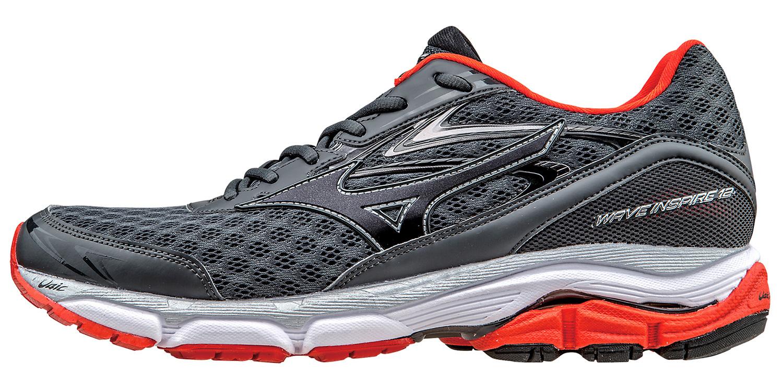Мужские беговые кроссовки Мизуно Wave Inspire 12 (J1GC1644 10) серые фото
