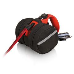 Trixie сумка-чехол для рулеток размером S-M, диаметр 9 см черный