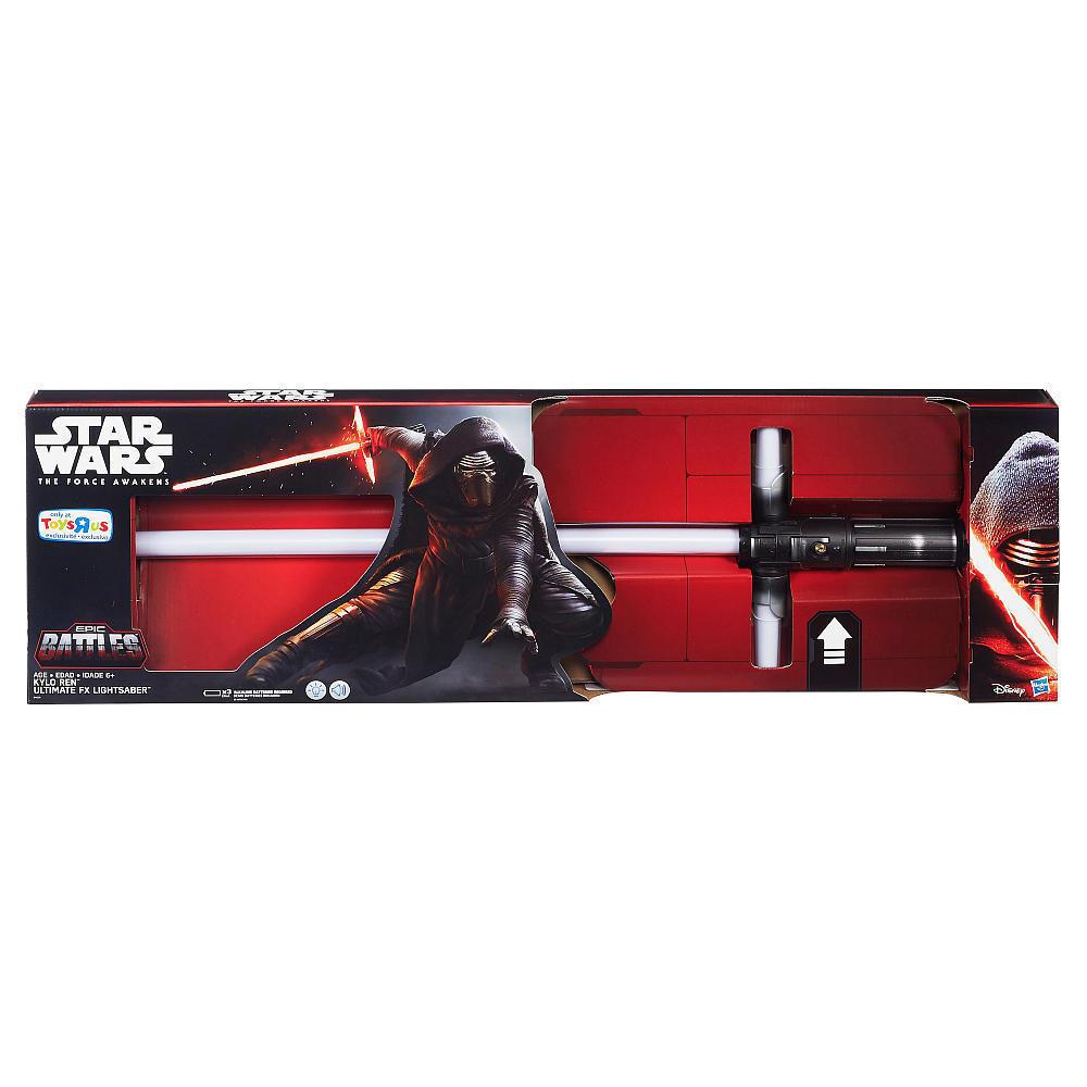 Ultimate FX Lightsaber — Kylo Ren Star Wars The Force Awakens