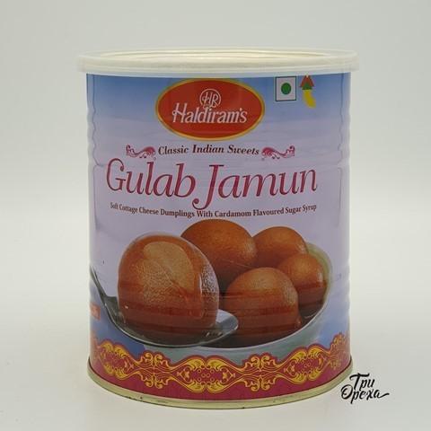 Сладость гулаб джамун традиционный Gulab Jamun HALDIRAMS, 1 кг