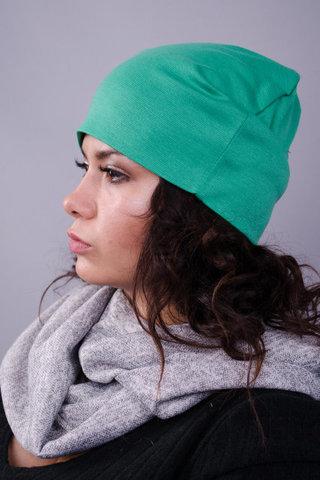 Фэшн. Молодёжные женские шапки. Бирюза.