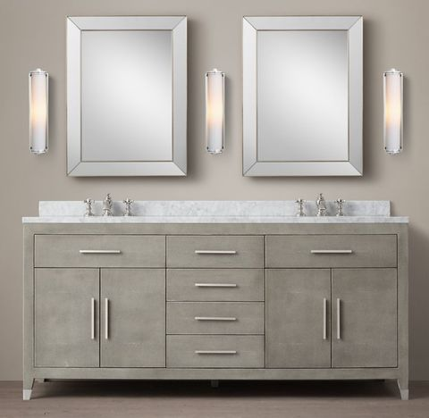 Graydon Shagreen Double Vanity
