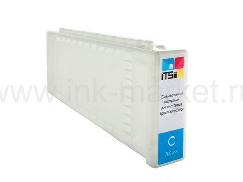 Картридж совместимый Epson C13T694200 Cyan для Epson SC-T3000, SC-T3200, SC-T5200, SC-T5000, SC-T7200, SC-T7000. Pigment 700 мл