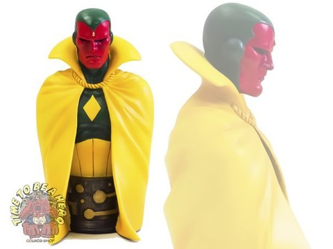 The Vision Marvel Mini-Bust Bowen Designs