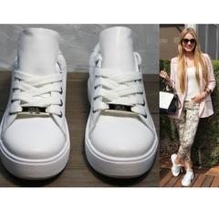 Белые кеды для девушек Molly shoes 557 Whate