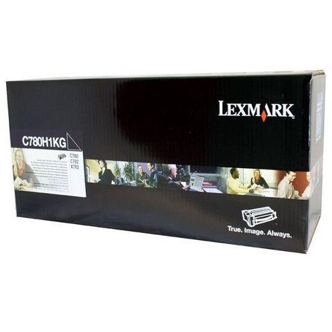 Картридж для принтеров Lexmark C780/C782 черный (black). Ресурс 10000 стр (C780H1KG)