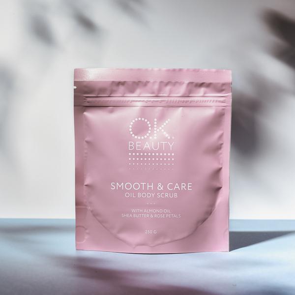 Увлажняющий и разглаживающий скраб для тела OK BEAUTY SMOOTH & CARE