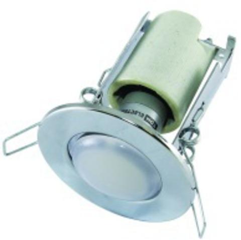 Светильник встраиваемый СВ 01-03 R50 60Вт Е14 хром TDM