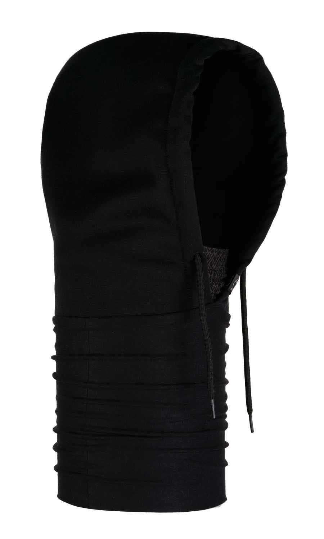 Капюшоны Капюшон-шарф из флиса Buff Hoodie Polar Drake Black 118115.999.10.00.jpg