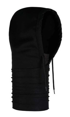 Капюшон-шарф из флиса Buff Hoodie Polar Drake Black
