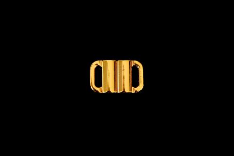 Застежка металл 10 мм золото