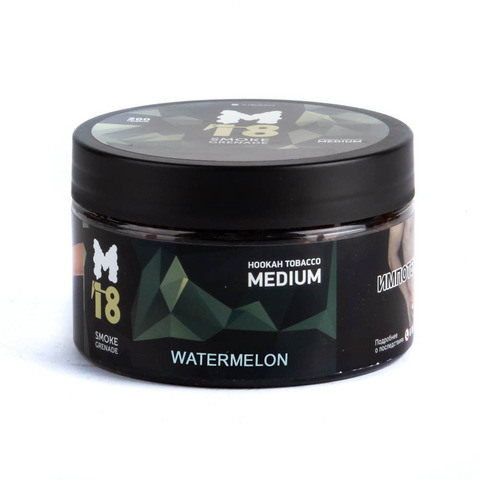 Табак M18 Medium Watermelon (Арбуз) 200 г